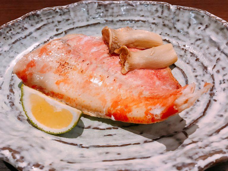 塩焼き 金目 鯛 金目鯛塩焼き